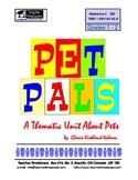 Pet Pals: Thematic Unit for grades K - 2