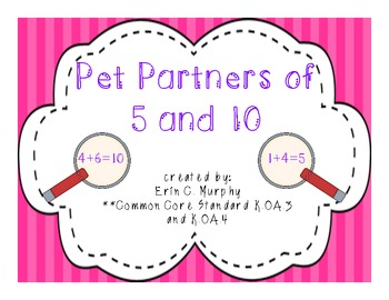 Pet Partners of 5 and 10 - K.OA.3, K.OA.4
