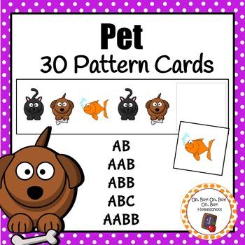 Patterns: Pet Pattern Cards