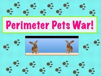 Pet Perimeter War: A Fun Game or Great Task Cards!