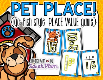 Pet Place! {A Go Fish!-Style Place Value Game}
