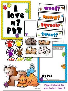 Pet Poem Clip Art & Printables