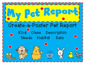 Pet Report Freebie