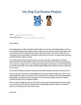 Pet Rescue Math Enrichment Project
