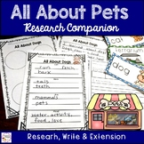 Pet Research Companion and Writing