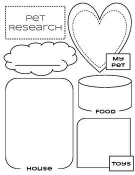 Pet Research Worksheet
