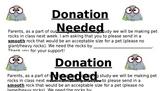 Pet Rock Donation Letter