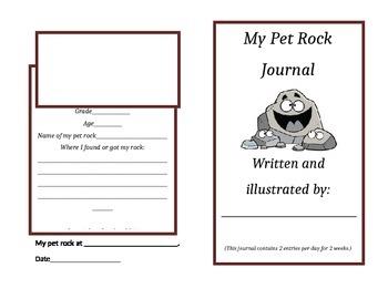 Pet Rock Journal