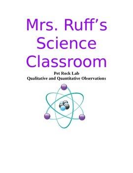 Pet Rock Lab - Qualitative and Quantitative Observations