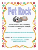 Pet Rock,Totally hilarious and fun writing activities to do with class pet rock