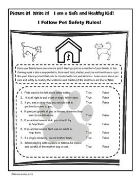 Safety Rules: Pet Safety