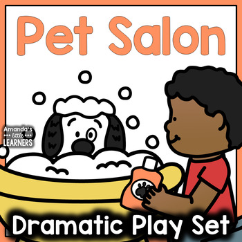 Pet Salon Dramatic Play Set