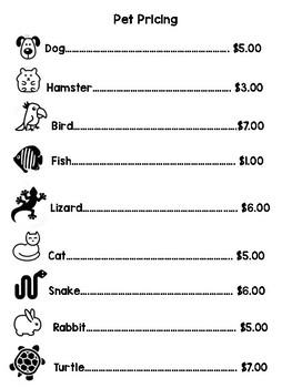 Pet Shop!