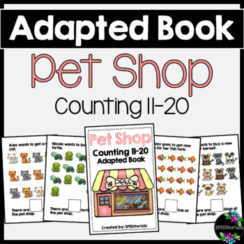 Pet Shop Adapted Book (Counting 11-20)