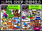 Pet Shop Animals Clipart - Pet Clipart {Creative Clips Clipart}