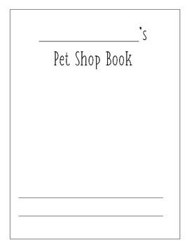 Pet Shop Book