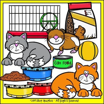 Pet Shop Clip Art Set - Chirp Graphics
