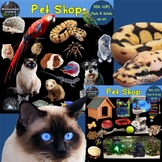 Pet Shop Clip Art Photo & Artistic Digital Stickers Clip A