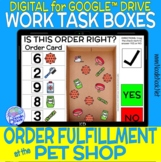 Pet Shop DIGITAL and Printable Vocational Work Task Box (D