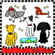DOGS Pet Shop Clip Art
