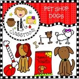 DOGS Pet Shop Clip Art