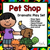 Pet Shop Dramatic Play