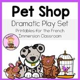 Pet Shop Dramatic Play Printables: L'animalerie