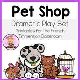 Pet Shop Dramatic Play Printables: L'animalerie
