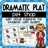 Pet Shop Dramatic Play Resources + Visuals for Students with Autism