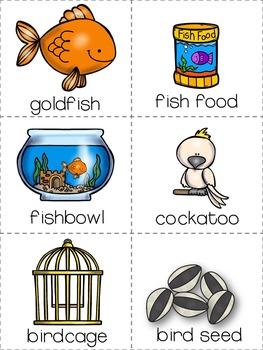 Pet Shop Go Fish Card Game