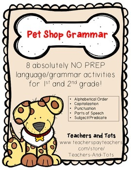 Pet Shop Grammar