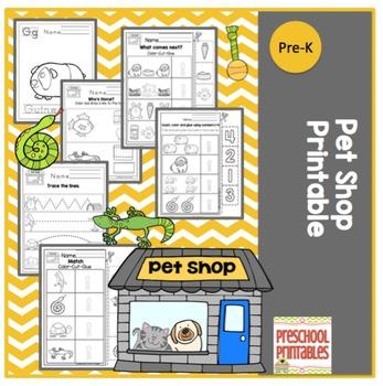 Pet Shop Printable