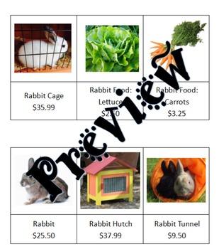 Pet Shop Purchases