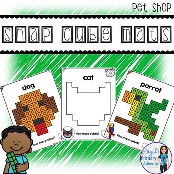 Pet Shop Snap Cube Activity Mats