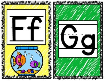 Animal Theme Alphabet Banner