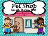 Pet Shop Speech Therapy Original Story Games and Riddle Cards