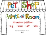 Pet Shop Write the Room with Word Families