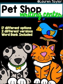 Pet Shop Writing Center