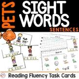 Pet Sight Word Sentence Fluency