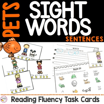 Pet Sight Word Sentence Fluency