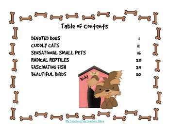 Pet Store Math - Companion Picture Book to Multi-Step Word Problems