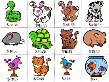 Pet Store Money Fun