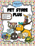 Pet Store Plus Center: 2 Digit Addition and Subtraction Wo