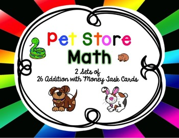 Pet Store Shopping {Adding Money}