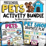 Preschool Pet Theme Activity Pack