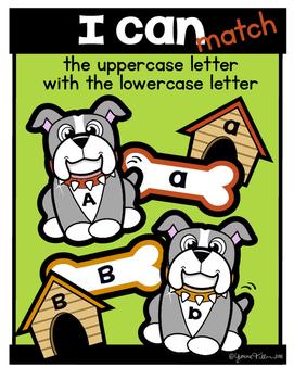 Pet Theme Alphabet & Math Centers {Doggies}