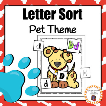 Pet Theme Letter Sort - S
