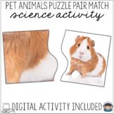 Science Center Activity Puzzles Pets – Visual Discrimination Print & Boom Cards