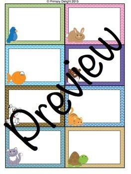 Pet-Themed Classroom Decoration Bundle