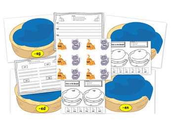 Short Vowel Word Families: Literacy Centers